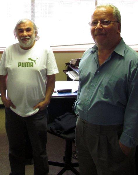 Dr. Francisco Peña (UFRO) y Dr. Samuel Lepe (PUCV)